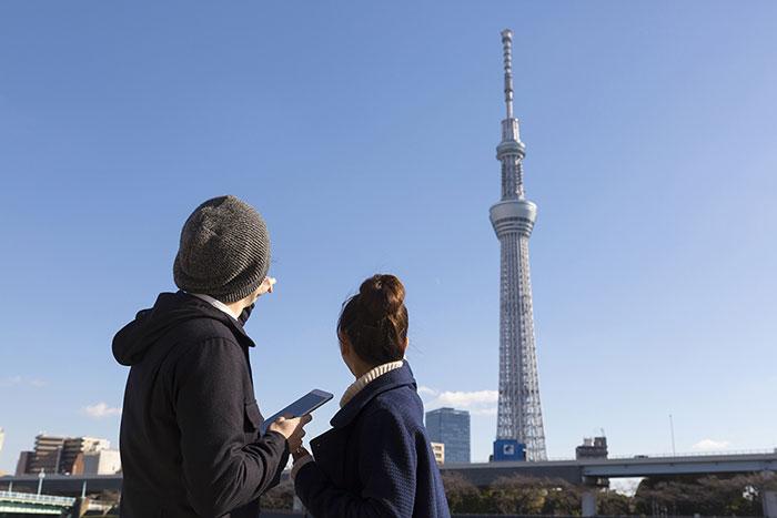 東京。そこはどんなシェアハウススタイルでも抜群に使い勝手が良い大都市イメージ
